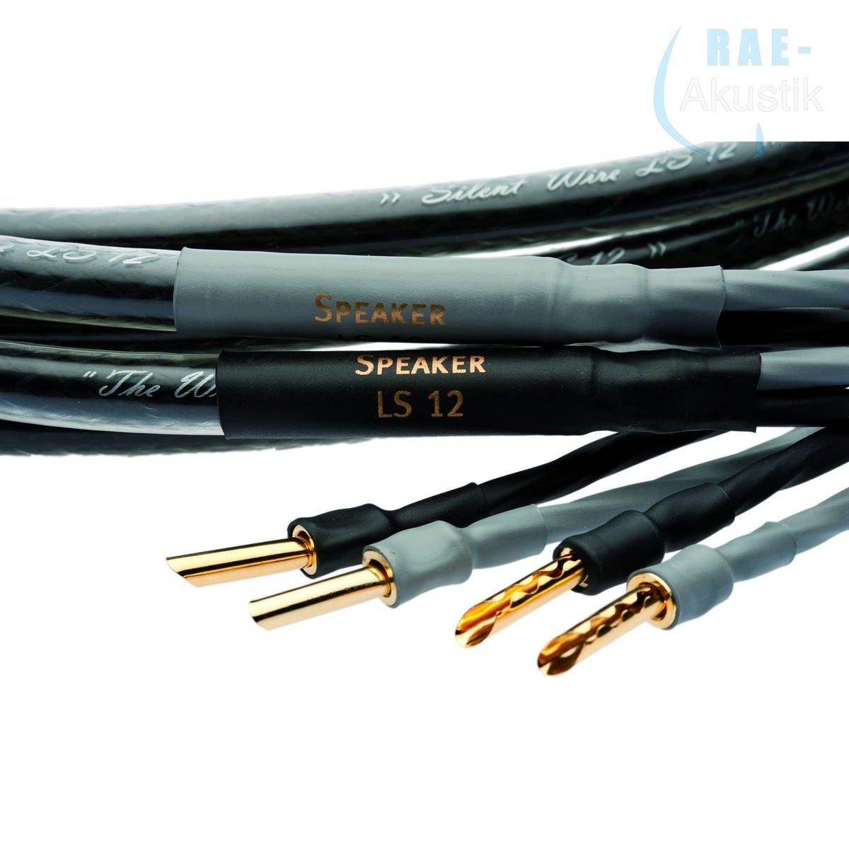 Silent WIRE LS 12 mk2 Lautsprecherkabel, ab 2 x 1,0 m, single oder bi