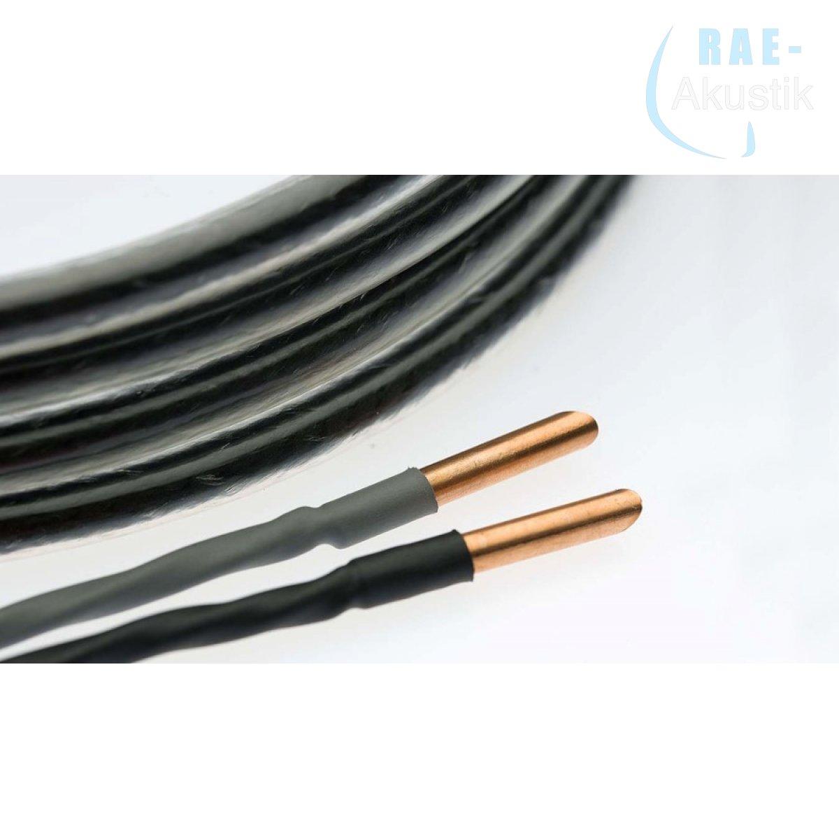 Silent WIRE LS 6 Lautsprecherkabel, schwarz, 6 x 0,5mm², ab 1,00