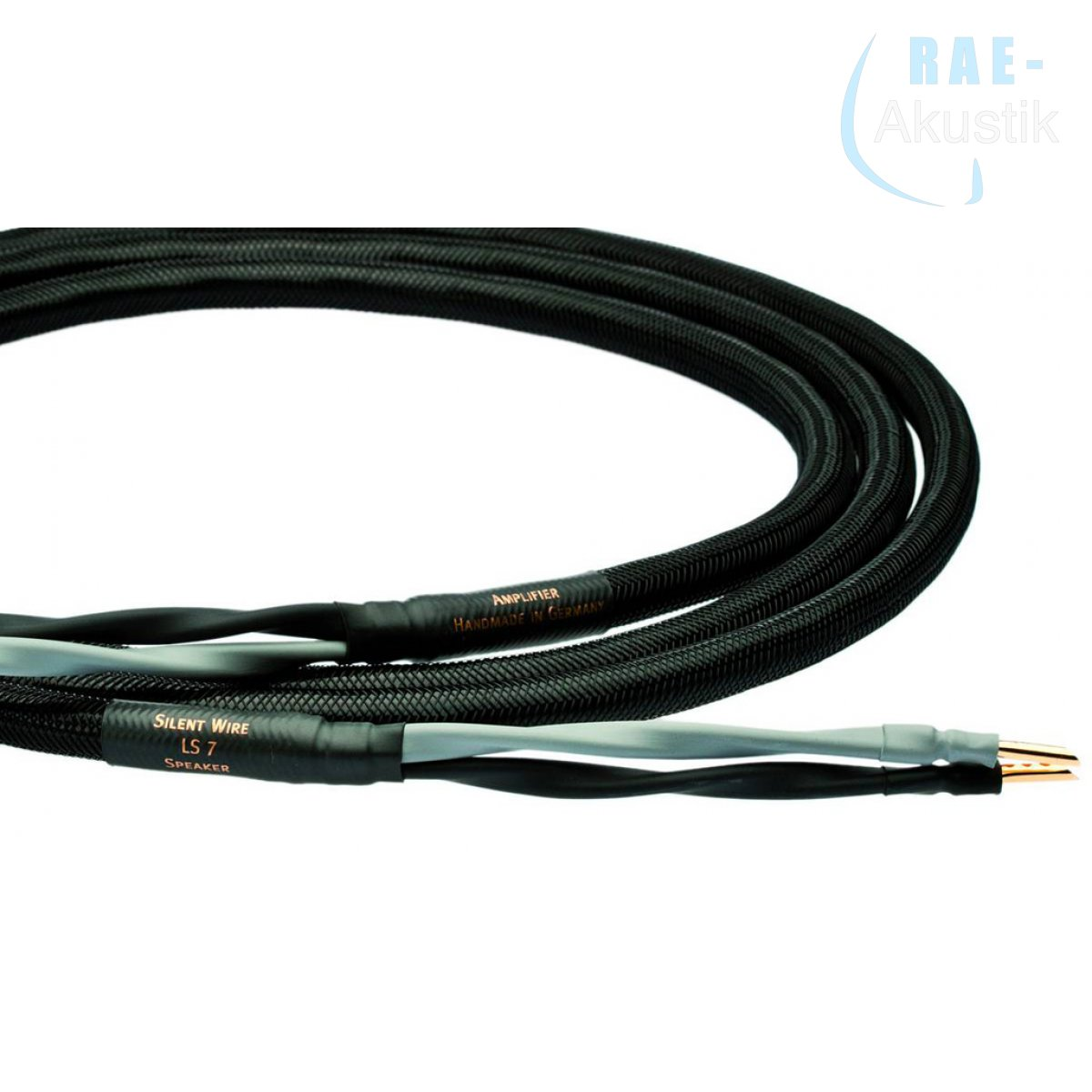 Silent WIRE LS 7 Lautsprecherkabel, ab 2 x 1,0 m, single oder bi-wire