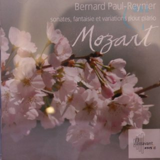 Audio CD Mozart - Bernard Paul-Reynier.Piano