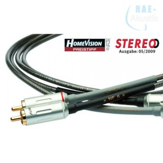 Silent WIRE NF 6 mk2 Audiokabel Cinch (RCA)