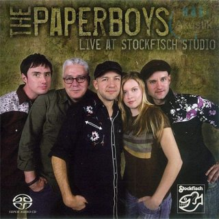 The Paperboys - live at Stockfisch Studio (SACD/CD - Stereo)