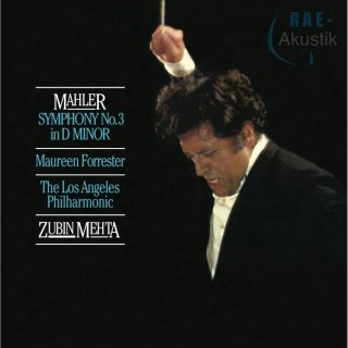 Zubin Mehta & Los Angeles Philharmonic - Mahler: Symphony No. 3 In D Minor/ Forrester