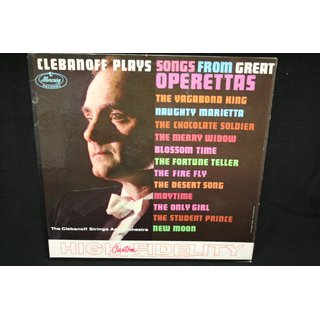 Clebanoff - plays songs from great operettas