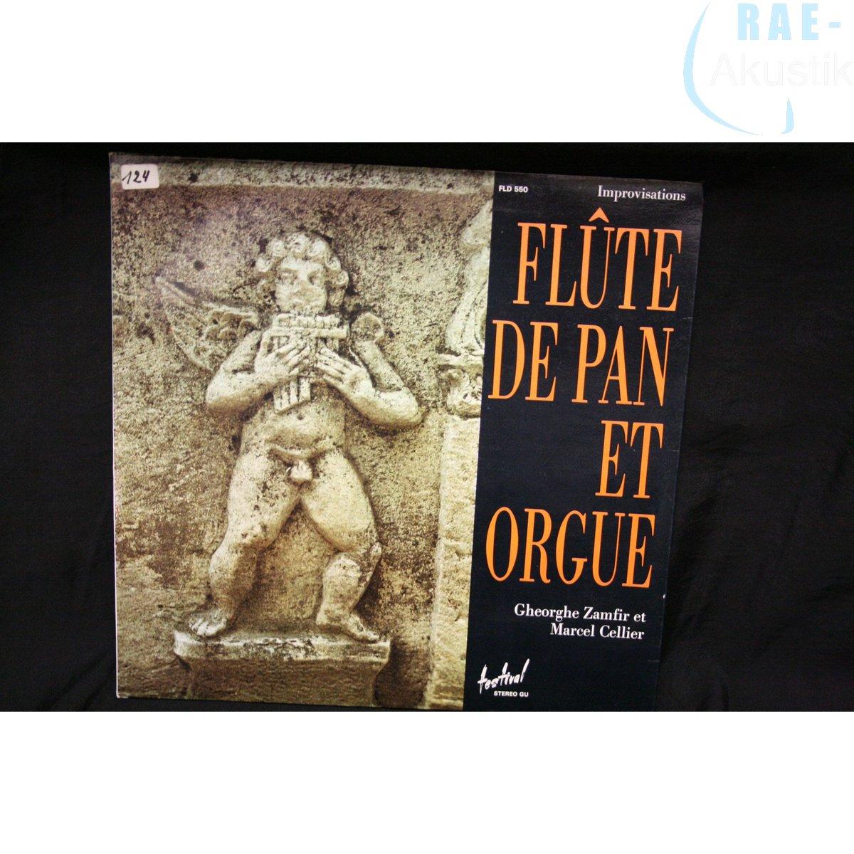 Gheorghe Zamfir et Marcel Cellier - Live-Direct Flûte De Pan Et Orgue