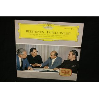 Beethoven* - Géza Anda · Wolfgang Schneiderhan · Pierre Fournier · Radio-Symphonie-Orchester Berlin · Ferenc Fricsay - Tripelkonzert