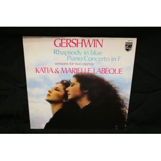 Gershwin* - Katia & Marielle Labeque* - Rhapsody In Blue ? Piano Concerto In F (Versions For Two Pianos)