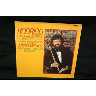 James Galway, Philharmonia Orchestra - Eduardo Mata - James Galway - Plays Rodrigo