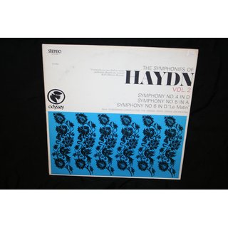 Haydn* / Max Goberman Conducting The Vienna State Opera Orchestra* - The Symphonies Of Haydn Vol. 2