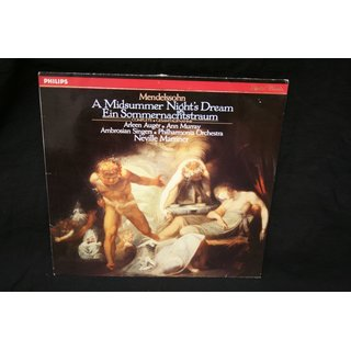 Mendelssohn*, Arleen Auger, Ann Murray, The Ambrosian Singers, Philharmonia Orchestra, Neville Marriner* - A Midsummer Nights Dream (Complete)