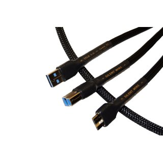 Silent WIRE SERIE 32 Cu USB Kabel, USB 3.0