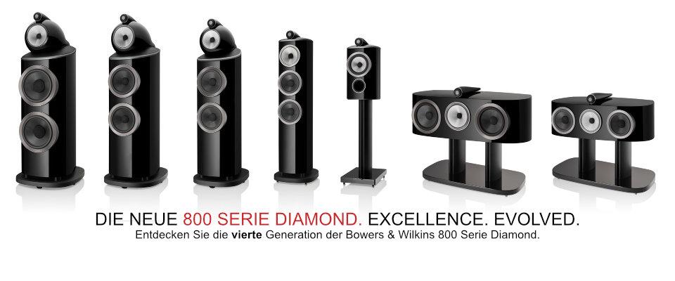 B&W Serie 800 Diamond D4 - vorführbereit