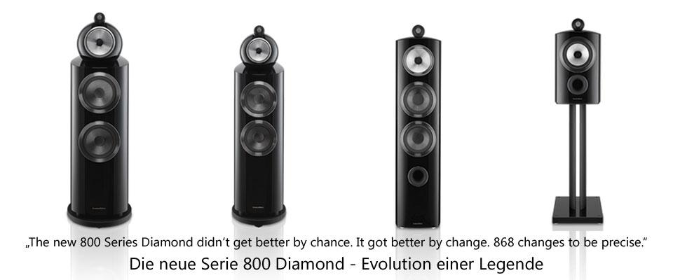 B&W Serie 800 Diamond D3 - vorführbereit!