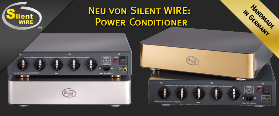 Silent WIRE Power Conditioner