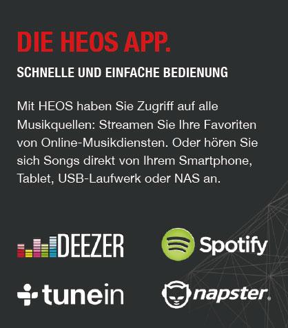 Die HEOS App