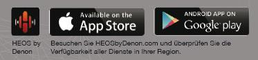 HEOS by Denon - verfügbar für iOS und Android