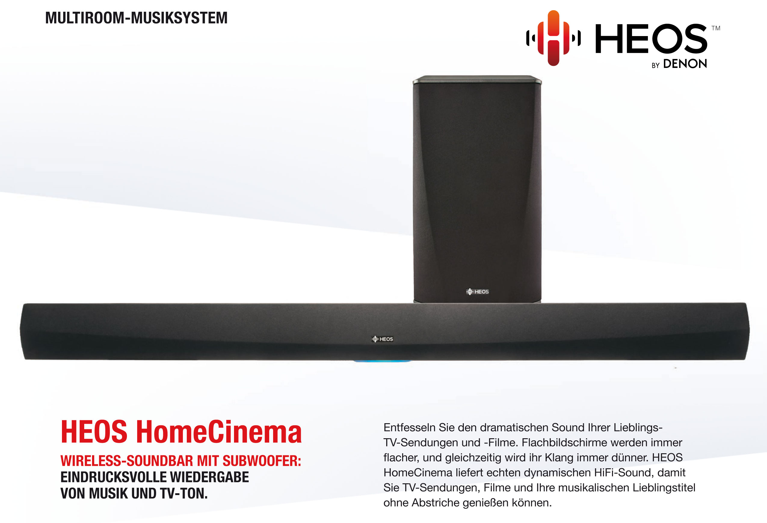 HEOS HomeCinema by Denon