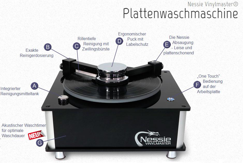 Nessie Vinylmaster - Details